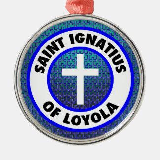 Saint Ignatius of Loyola Christmas Ornament