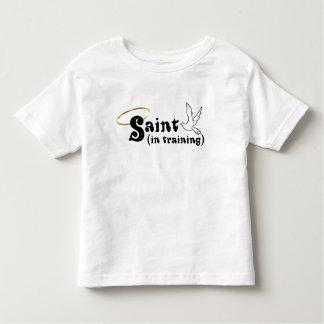 Saint In Training toddler tee