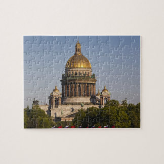 Saint Isaac Cathedral, from the Neva River Jigsaw Puzzle