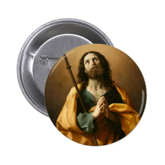 """Saint James"" art button"
