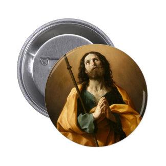 """Saint James"" art button"
