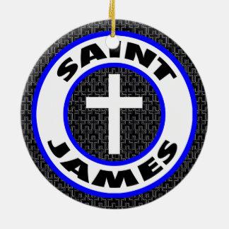 Saint James Christmas Ornament