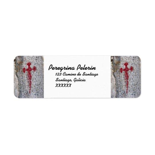 Saint James Cross Address Labels