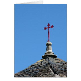 Saint James Cross Card