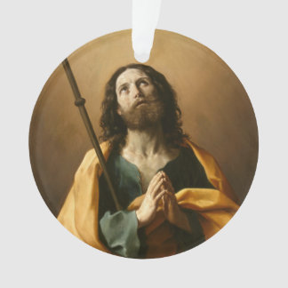 """Saint James"" custom ornament"