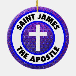 Saint James the Apostle Christmas Ornament
