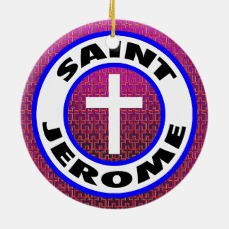 Saint Jerome Christmas Ornament