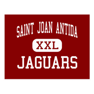 Saint Joan Antida - Jaguars - High - Milwaukee Postcard