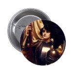 Saint Joan of Arc Buttons