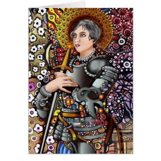 Saint Joan of Arc Card