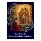 Saint Joan of Arc Greeting Card (blank)