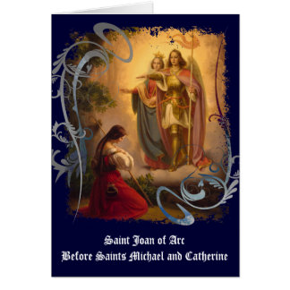 Saint Joan of Arc Greeting Card (blank)
