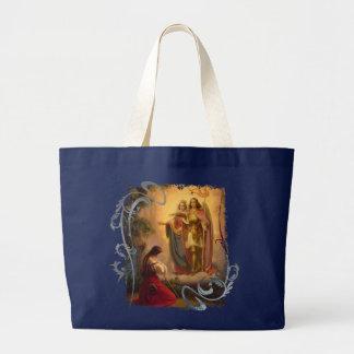 Saint Joan of Arc Large Tote Bag