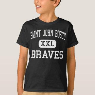 Saint John Bosco - Braves - High - Bellflower T-Shirt
