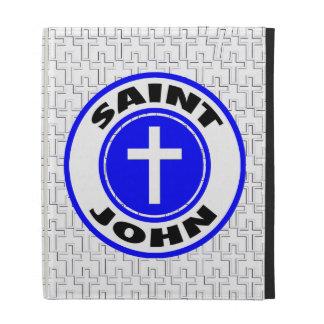 Saint John iPad Cases