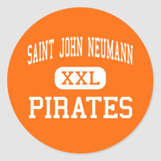 Saint John Neumann - Pirates - High - Philadelphia Classic Round Sticker