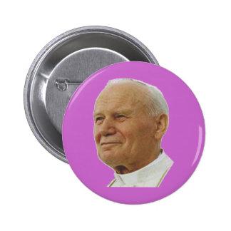 Saint John Paul II 6 Cm Round Badge