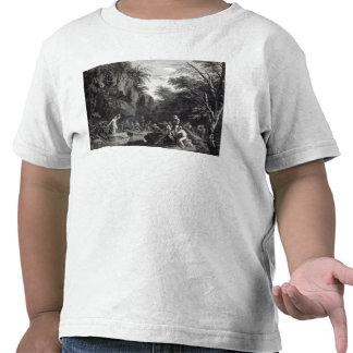 Saint John preaching in the Wilderness Shirts
