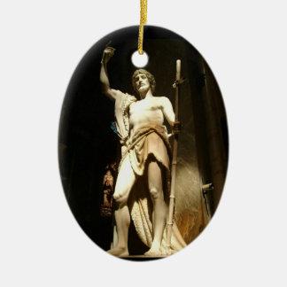 Saint John the Baptist Christmas Ornament