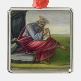 Saint John the Divine on Patmos, Writing the Book Christmas Ornament