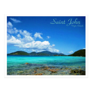 Saint John Virgin Islands Postcard
