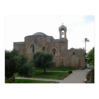Saint John's Church Lebanon Postcard