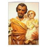Saint Joseph Birthday Card