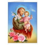 Saint Joseph feast day Greeting Cards