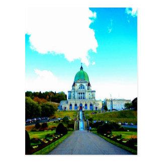 Saint Joseph Montreal chauch Postcard