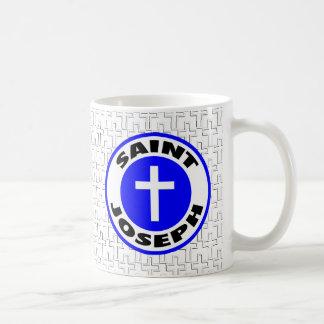 Saint Joseph Basic White Mug