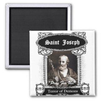 Saint Joseph: Terror of Demons Square Magnet