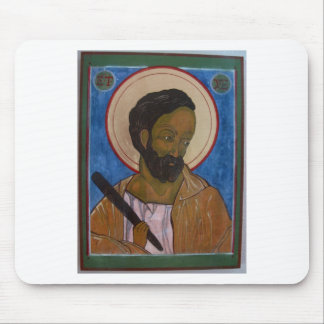 Saint Jude Icon Mouse Pad
