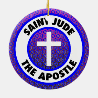 Saint Jude the Apostle Christmas Ornament