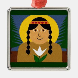 Saint Kateri Tekakwitha Christmas Ornaments