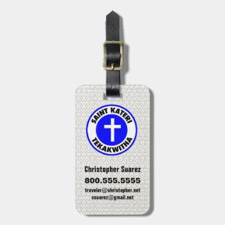 Saint Kateri Tekakwitha Luggage Tag