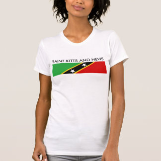 saint kitts and nevis country flag nation symbol T-Shirt