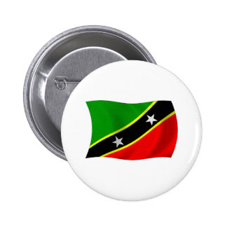 Saint Kitts and Nevis Flag Button