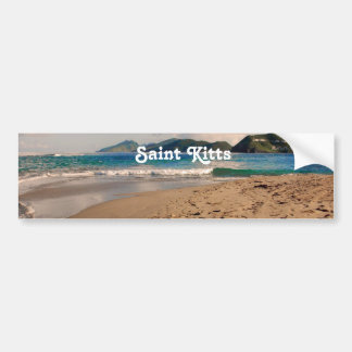 Saint Kitts Beach Bumper Stickers