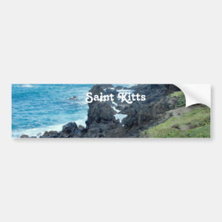 Saint Kitts Coast Bumper Stickers