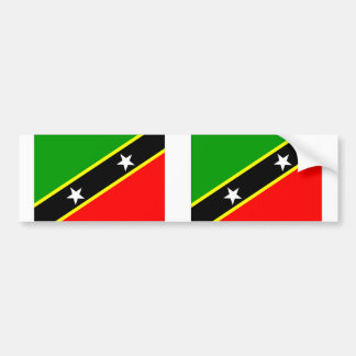 Saint Kitts Nevis Bumper Stickers