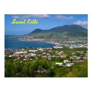 Saint Kitts postcard
