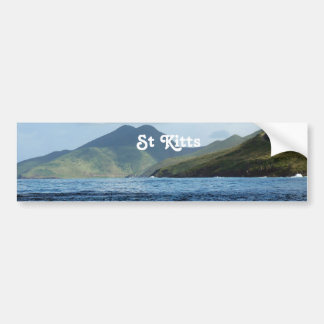 Saint Kitts Views Bumper Sticker