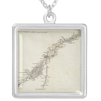 Saint Lawrence River in Canada Silver Plated Necklace