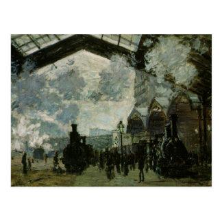 Saint Lazare Station by Claude Monet Postcard