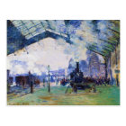 Saint-Lazare Station, Normandy Train, Claude Monet Postcard