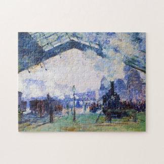 Saint-Lazare Station, Normandy Train, Claude Monet Puzzles