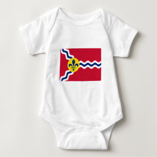 Saint Louis Flag Baby Bodysuit