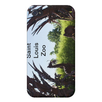 Saint Louis Zoo Sculpture iPhone 4 Cases