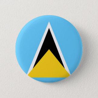 Saint Lucia 6 Cm Round Badge