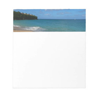 Saint Lucia Beach Tropical Vacation Landscape Notepad